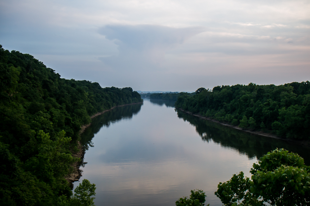 Cumberland River Two Rivers Park Nashville