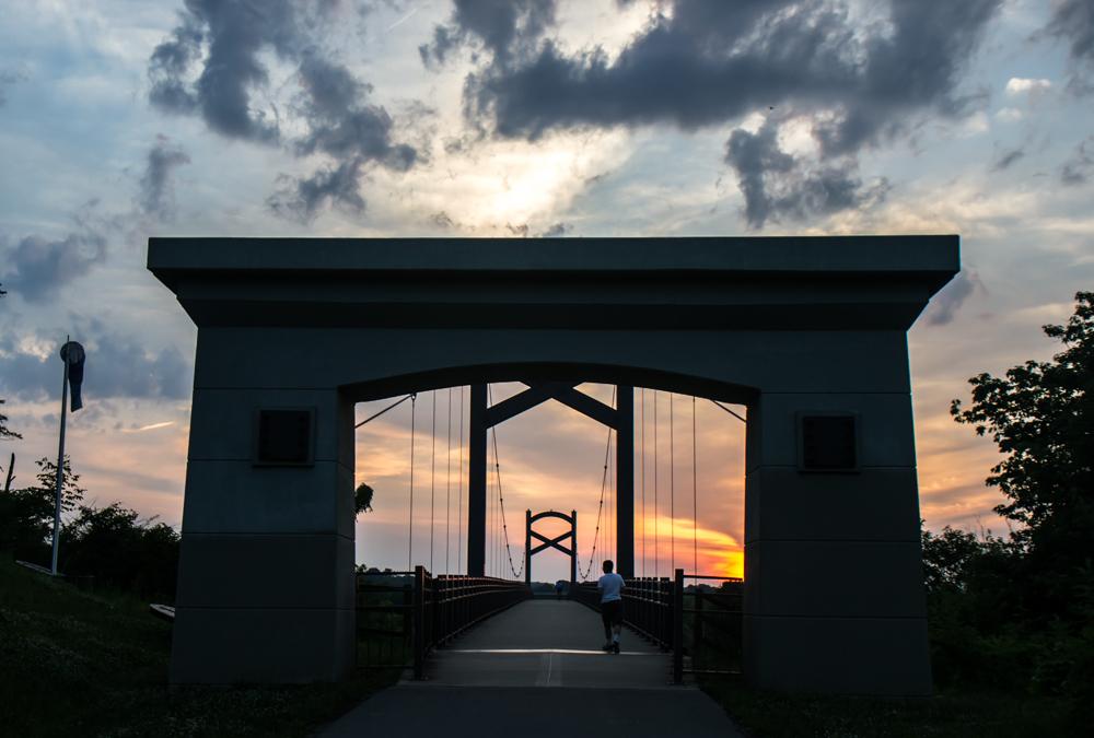 Bridge Two Rivers Park Nashville
