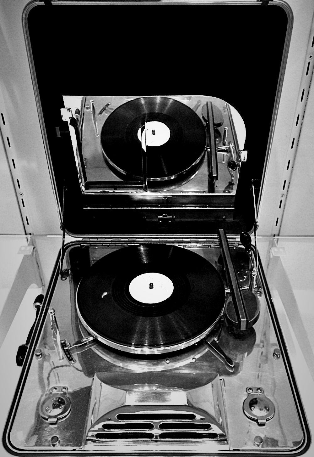 Chrome Record Player Minneapolis Institute Art