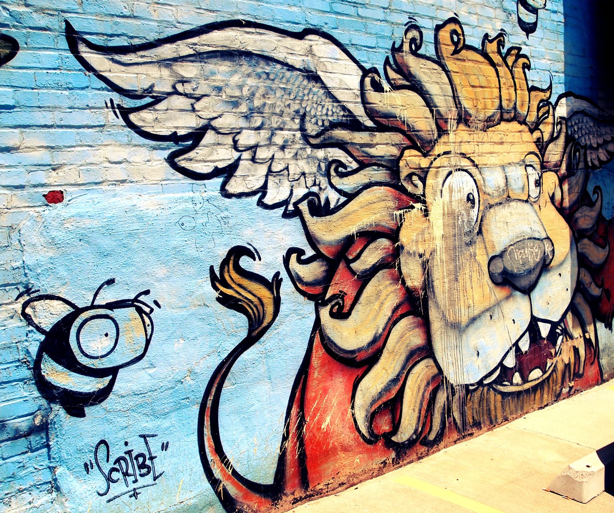 Scribe Mural Graffiti Kansas City