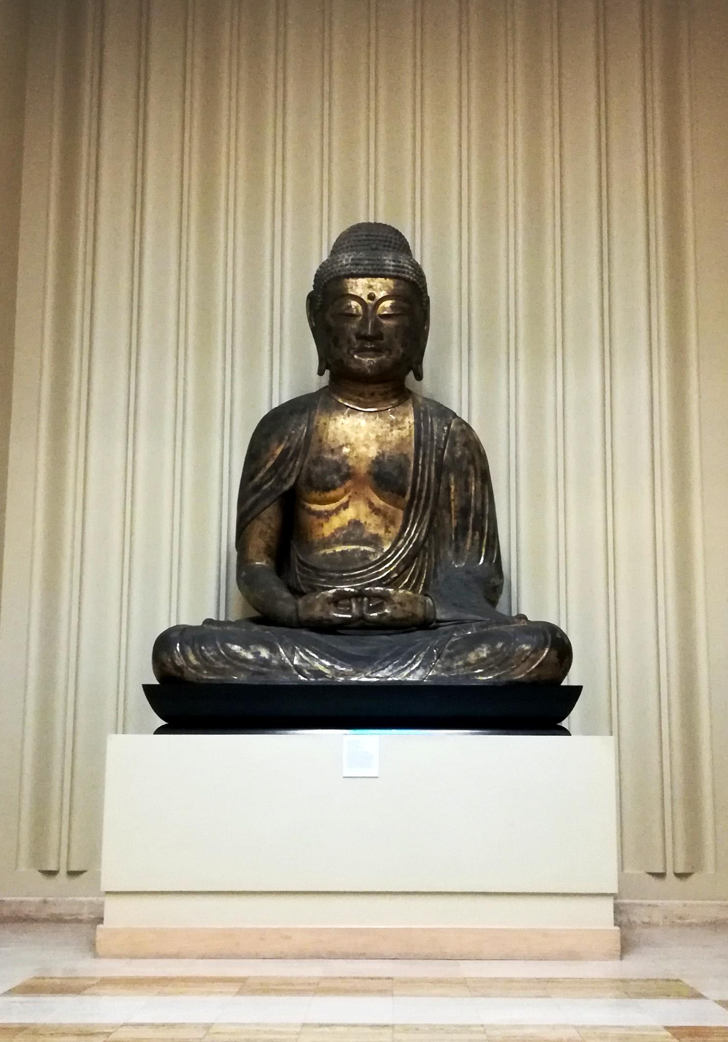 Buddha Nelson-Atkins Museum of Art Kansas City KCMO