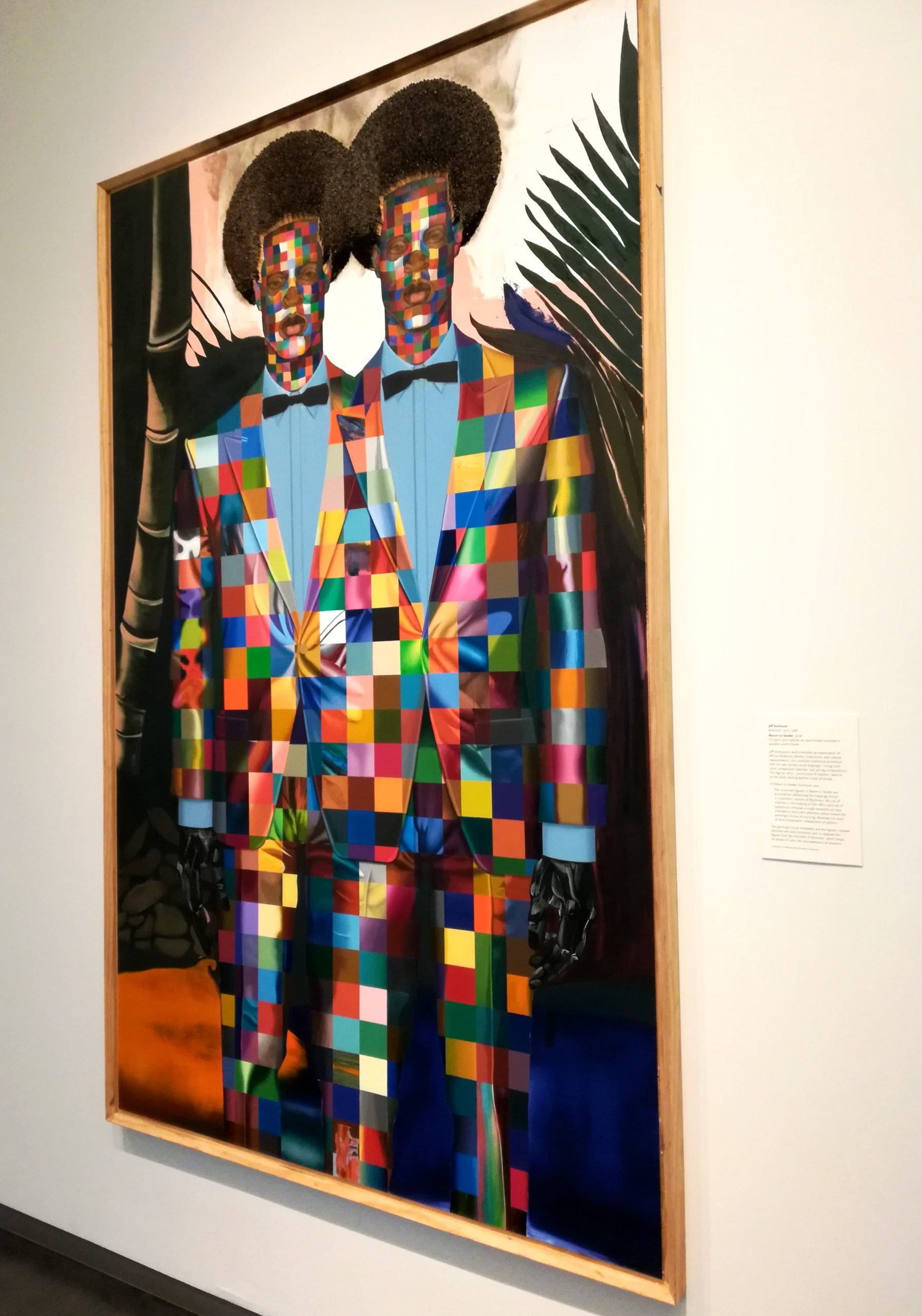 Jeff Sonhouse Return to Sender Nelson-Atkins Museum of Art Kansas City KCMO