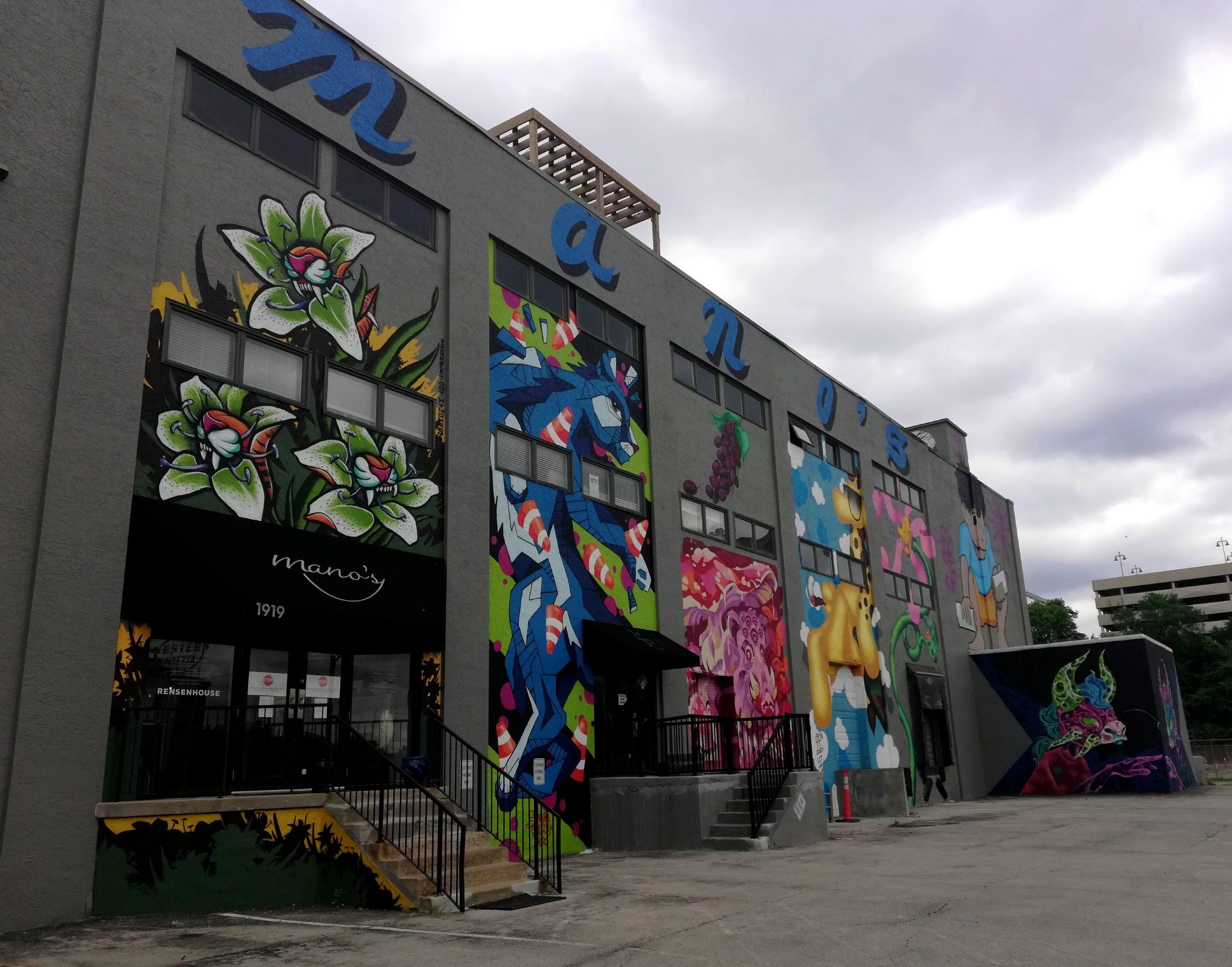 Manos Graffiti Kansas City Street Art KCMO