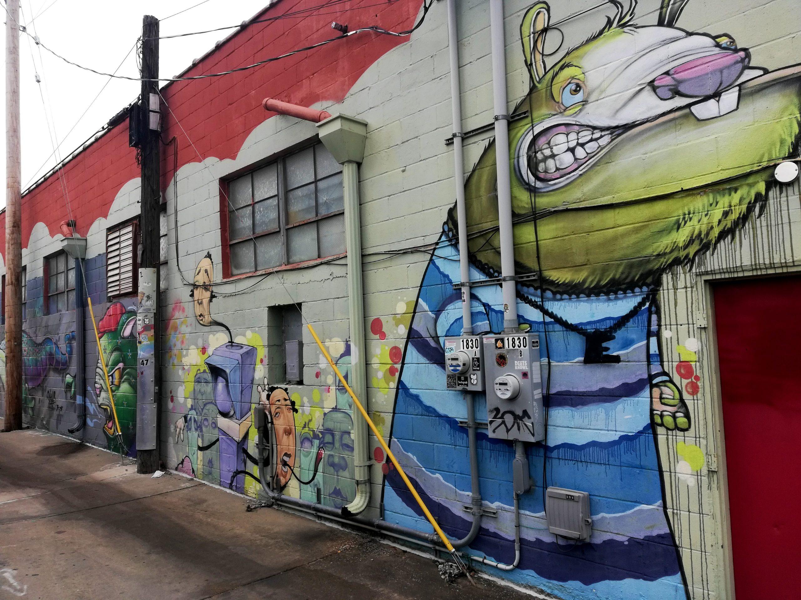 Scribe Overbite Graffiti Kansas City Street Art KCMO