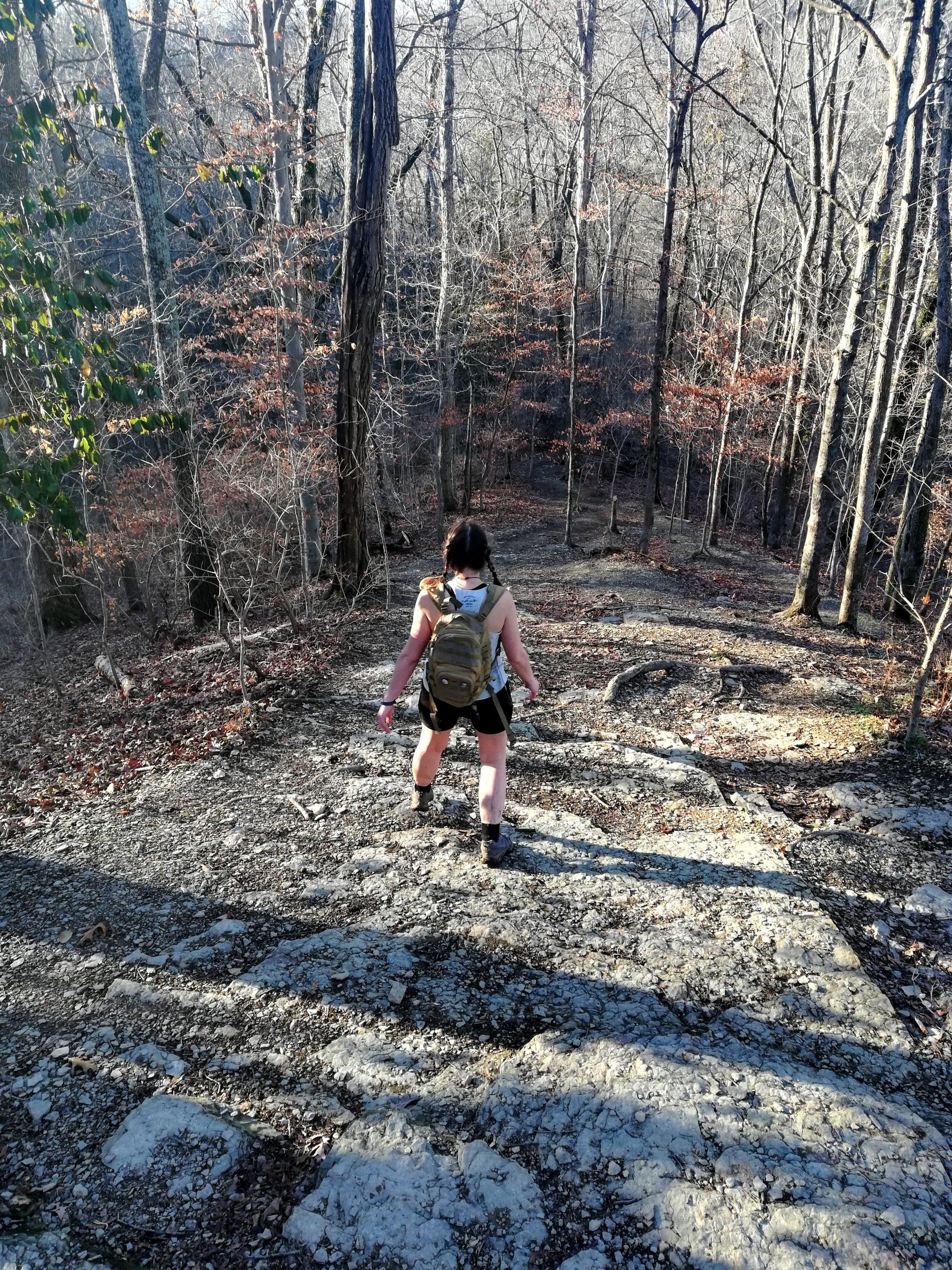 Percy Warner Park Red Trail Nashville Hiking