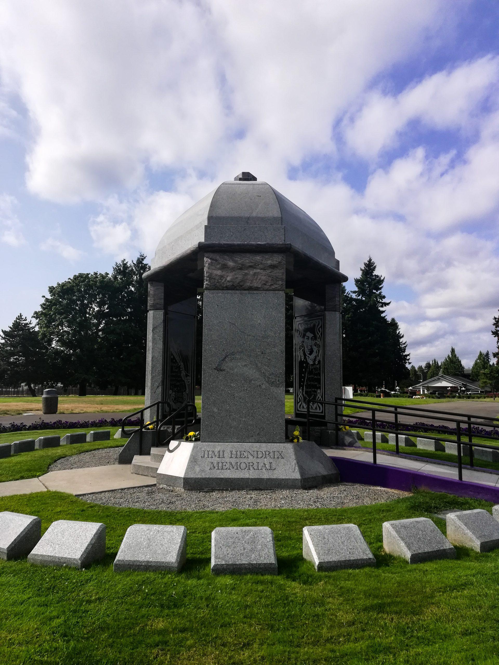 Jimi Hendrix Memorial Renton Seattle
