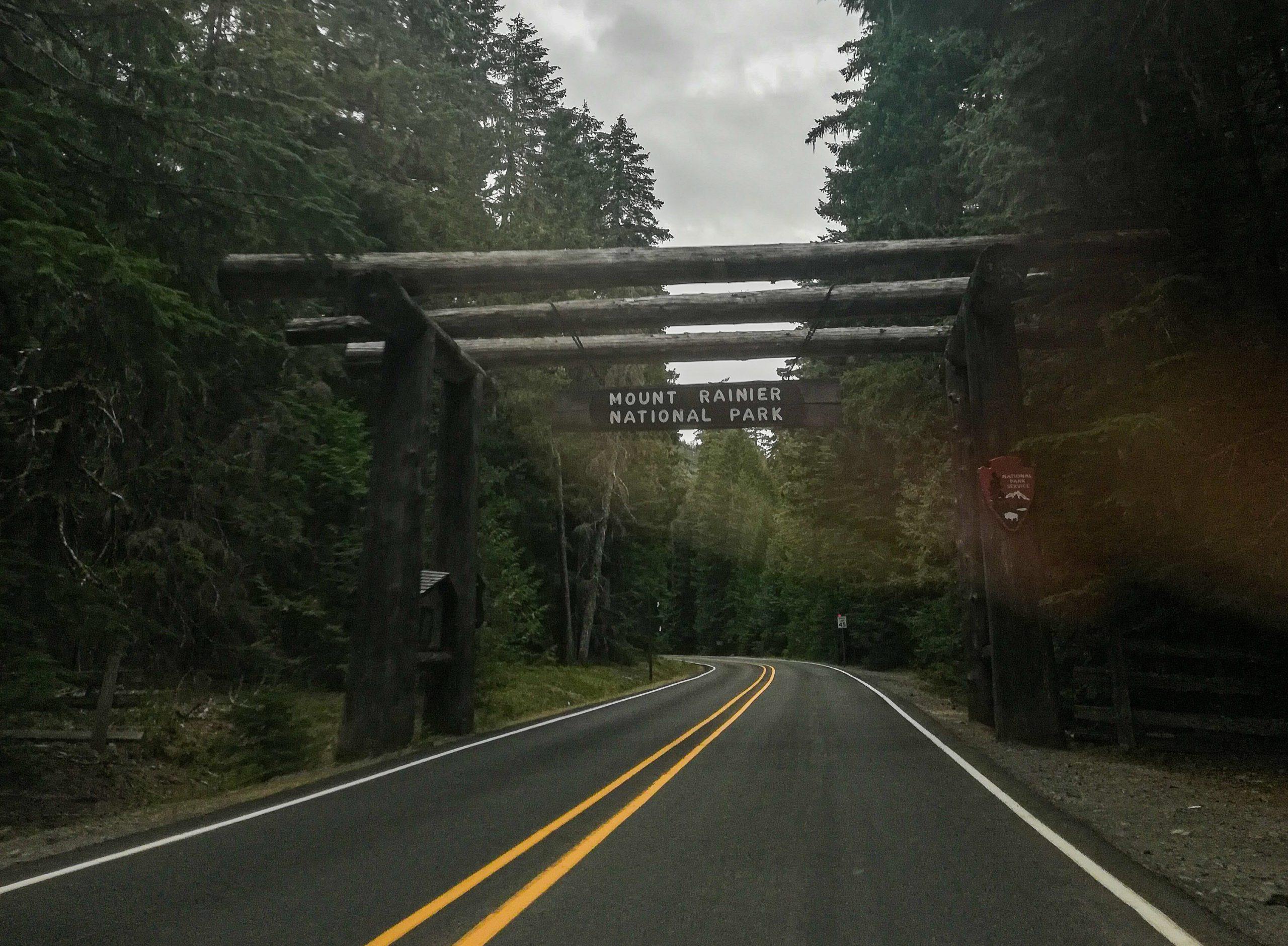 Mount Rainier Mather Memorial Parkway