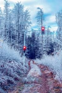 Winter Ampel