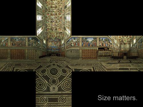 Stumbling Toward 'Awesomeness'32K Sistine Chapel CubeMap [Python How