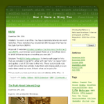 Greencode Wordpress Theme