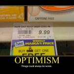 Motivational Poster: OPTIMISM