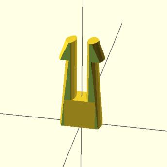 Modified clip