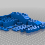 Print your own LEGO-compatible bricks