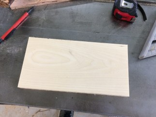 The widest resawn board, for the box lid.