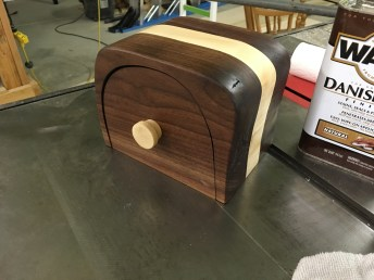 Walnut and Maple Bandsaw Box