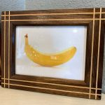 I made some picture frames (banana for scale)