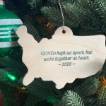 COVID Christmas Ornaments