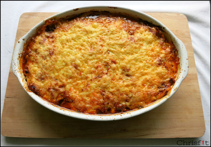Personal Trainer Fitnesstrainer Wien Low-Carb Lasagne