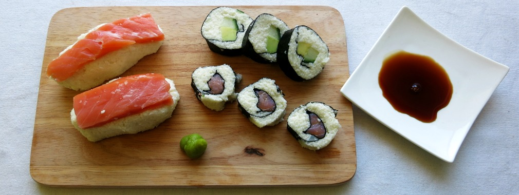 Low-Carb Sushi Personal Trainer Fitnesstrainer Wien