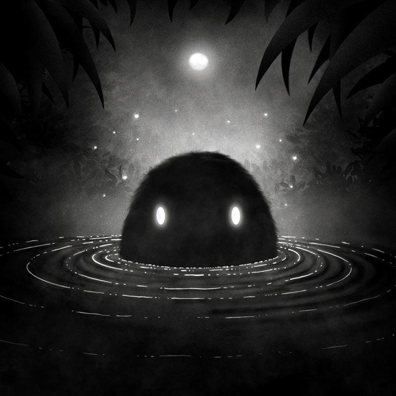 Black Swamp Monster