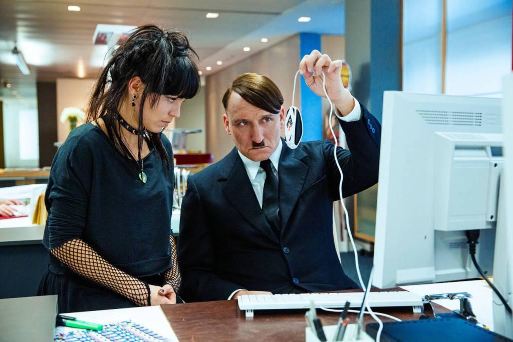 Hitler beim Entdecken des