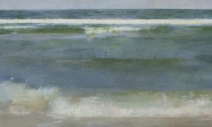 Christopher Gallego, American painter, Surf #2