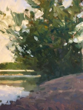 Christopher Gallego Blog, Featured Artist: Frank Hobbs, Bridge Over the Scioto River,