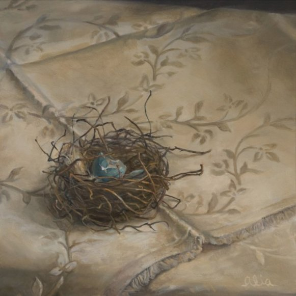 Christopher Gallego Blog: 7 Tips to Jolt You Right Out of Your Artistic Rut-Featured Artist Alia El-Bermani: Pokeberry