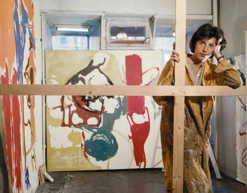 Christopher Gallego Blog Post: 'Should You Dump Your Job and Paint Full Time?' Featured Artist: Helen Frankenthaler