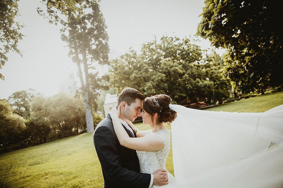 Modern Garden Melbourne Wedding Photographer