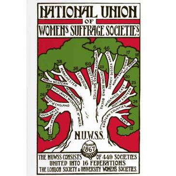 Resultado de imagem para National Union of Women's Suffrage Societies