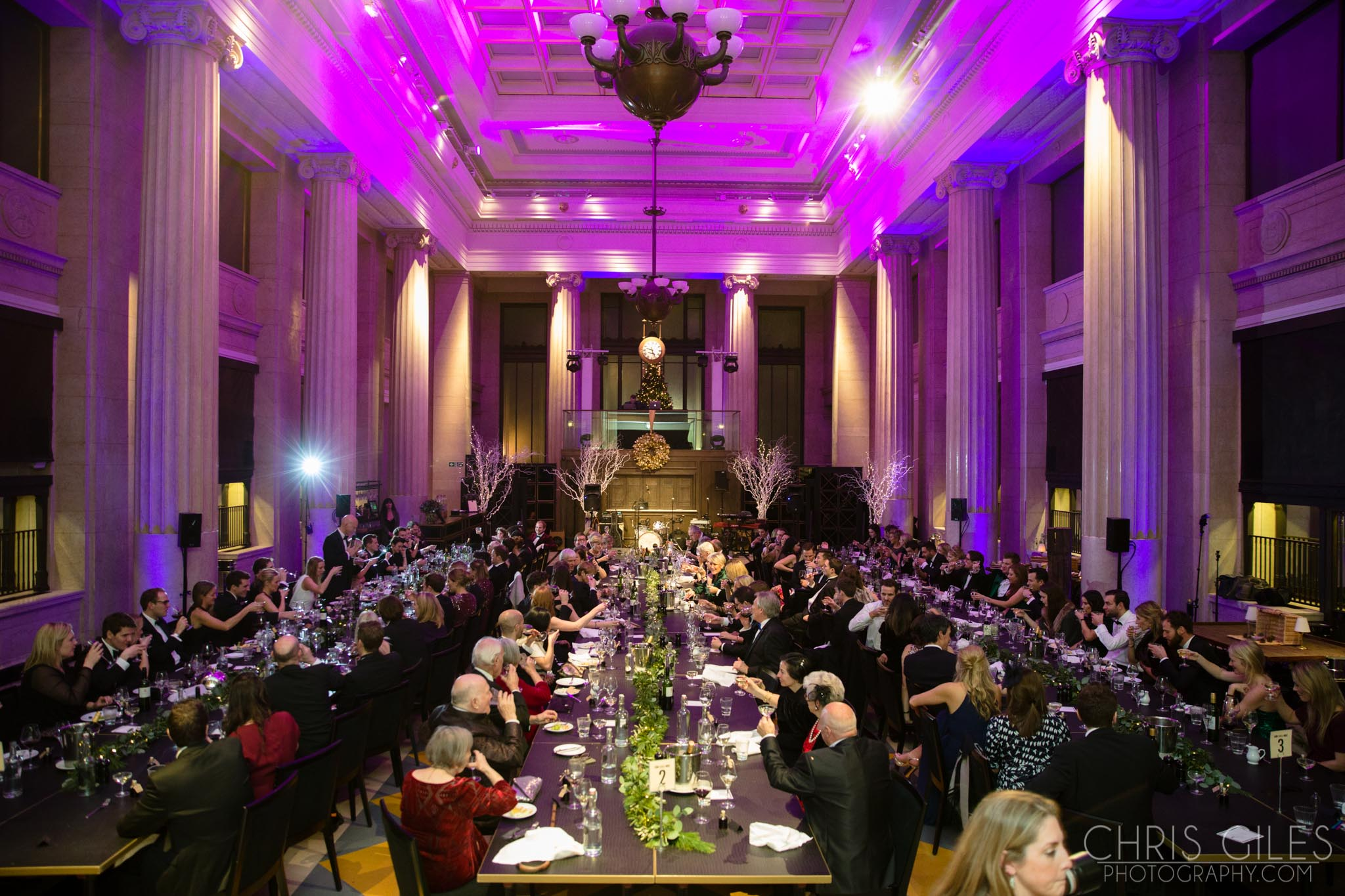 The Banking Hall Wedding On Nye Chris Giles Photography