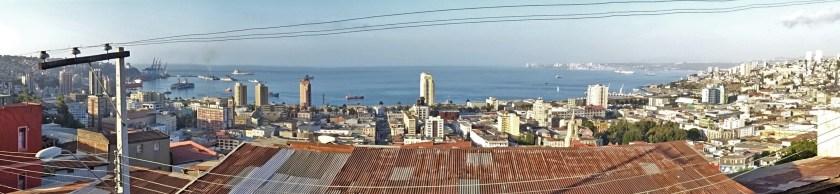 Valparaiso from Hostal Mariposa