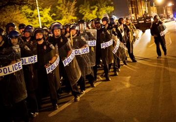 Police Stand Ready for Protestors - Is There Another Approach?