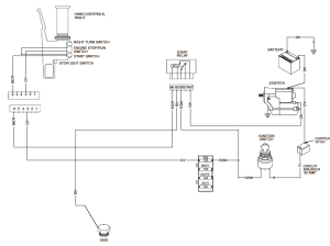 Starter relay wiring diagram!  The Sportster and Buell
