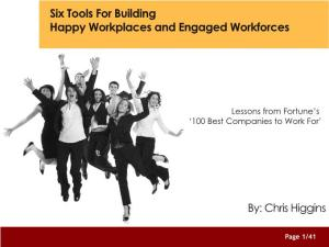 Free E-Book: Building Happy Workplaces and Engaged Workforces