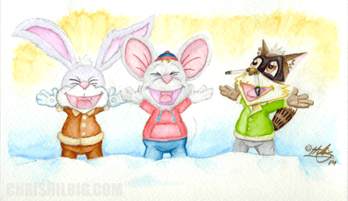 Hurray for W&S water color markers!