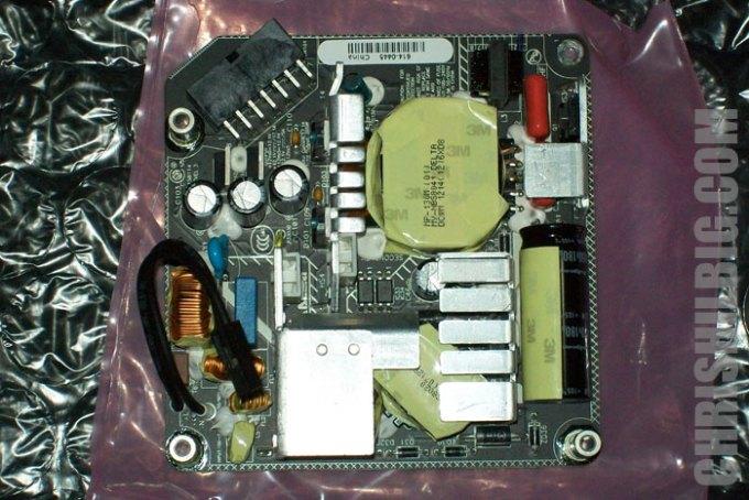 back side of iMac power supply