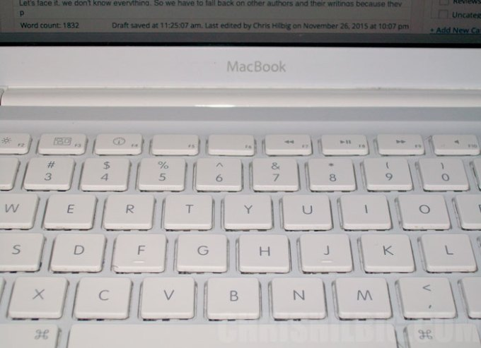 mac book keyboard