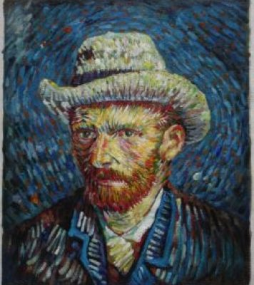 Actual Van Gogh self-portrait
