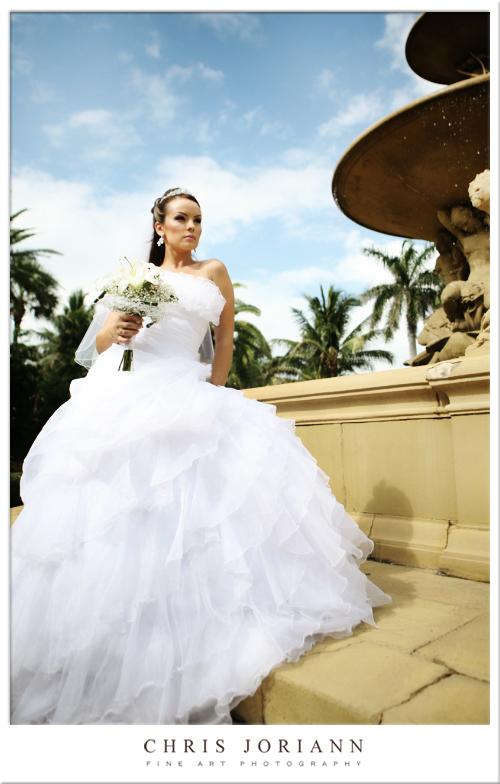 bride fountain