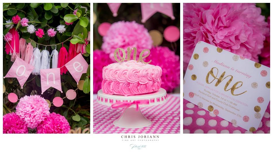 Tremendous Madisons First Birthday Smash The Cake Palm Beach Photography Personalised Birthday Cards Akebfashionlily Jamesorg