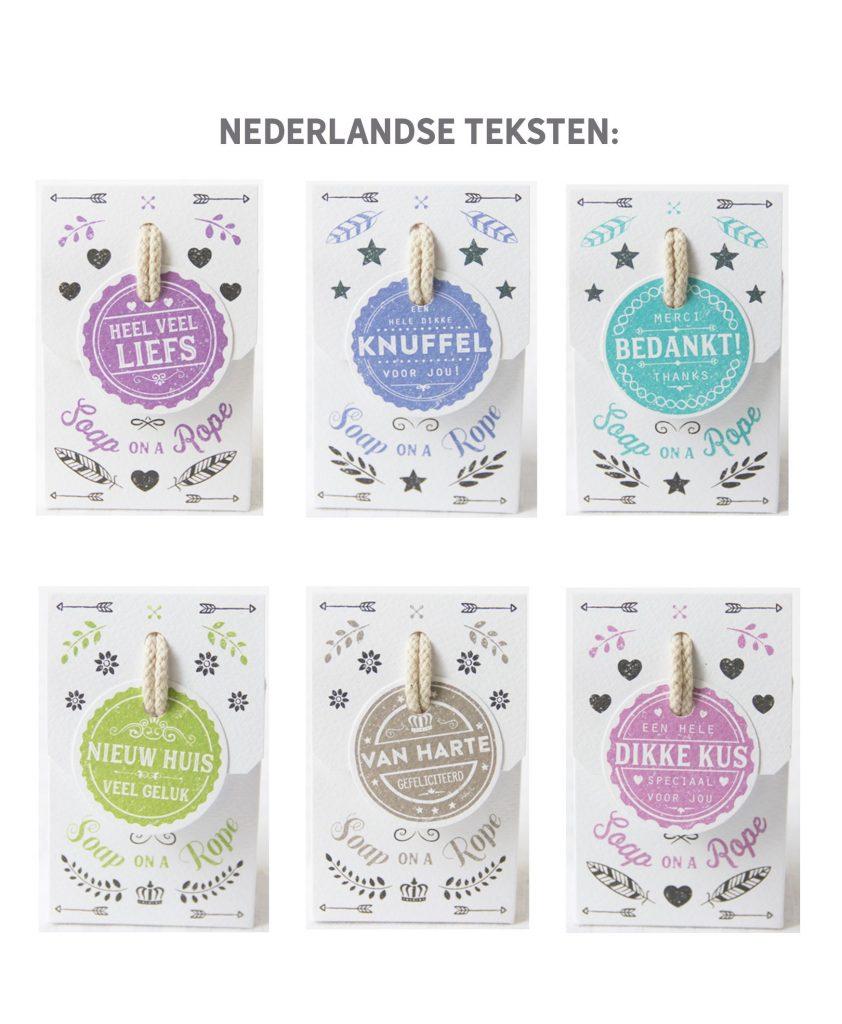 Soap on a Rope - Wensdoosje - Nederlandse teksten