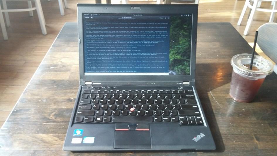 ThinkPad Writing