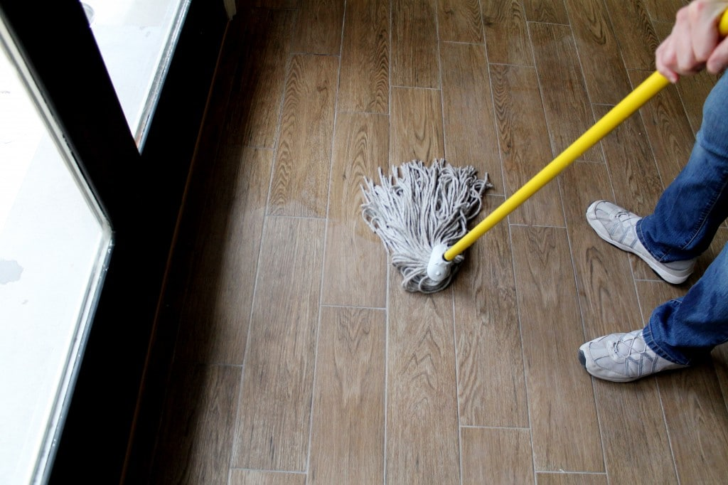 removing grout haze the easy way