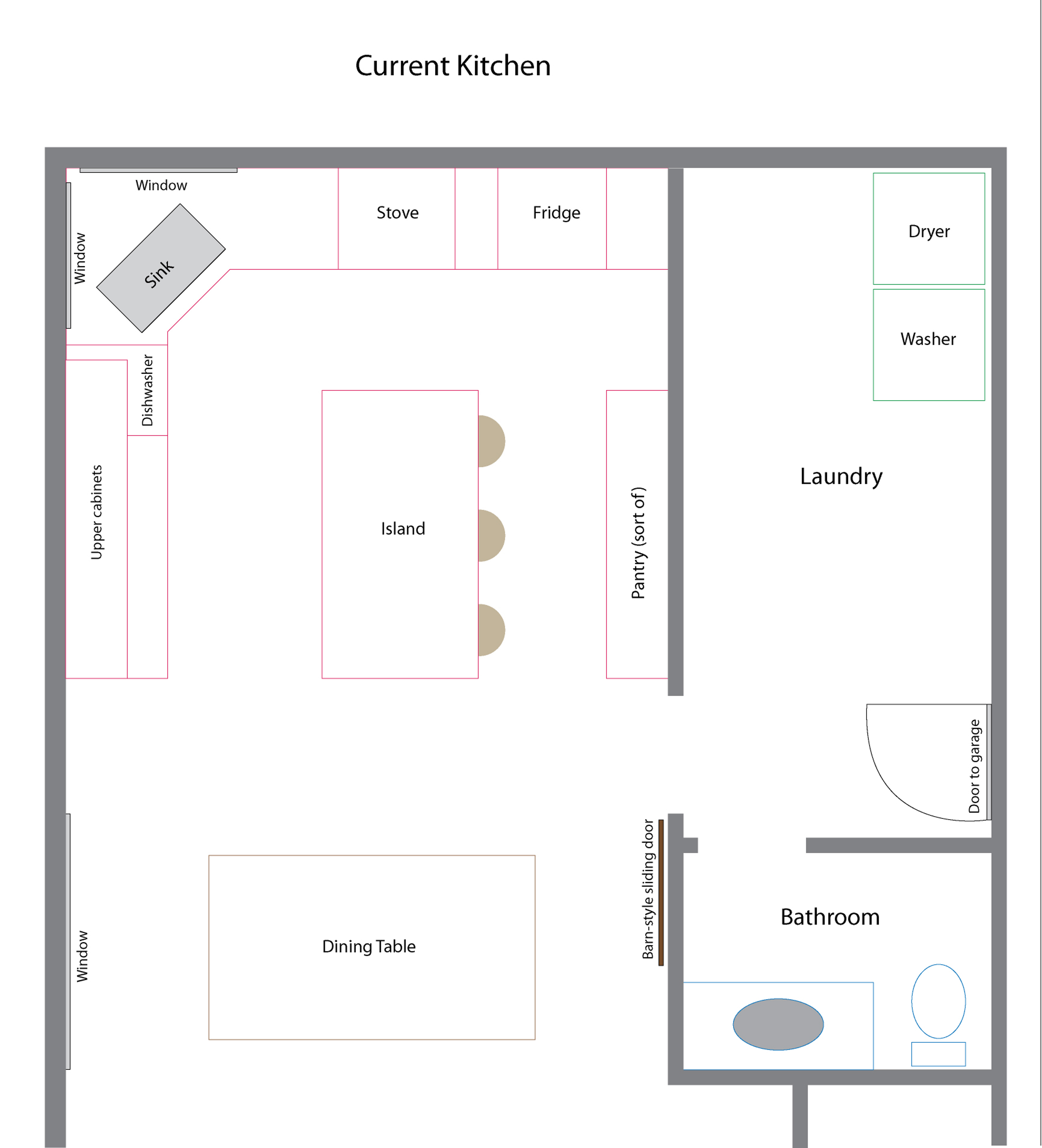Kitchen Floor Layout Planner