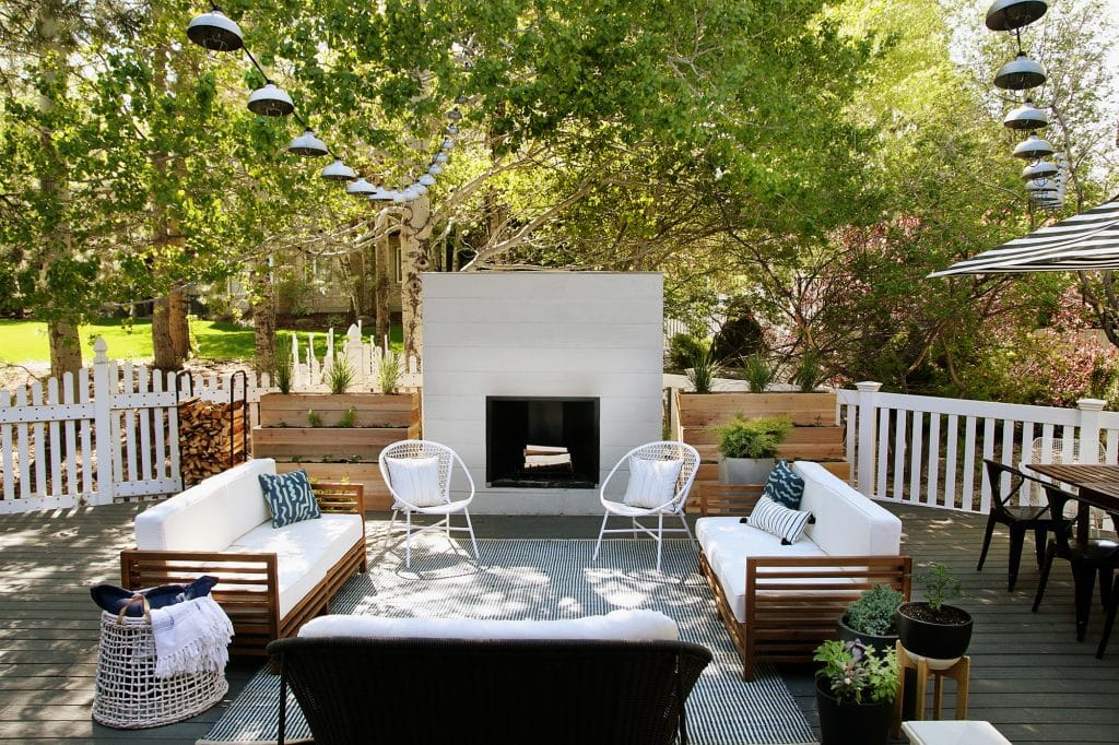 how we keep our outdoor furniture clean