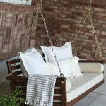 How We Completely Transformed Our Porch Swing With Gel Stain It Couldn T Be Easier Chris Loves Julia