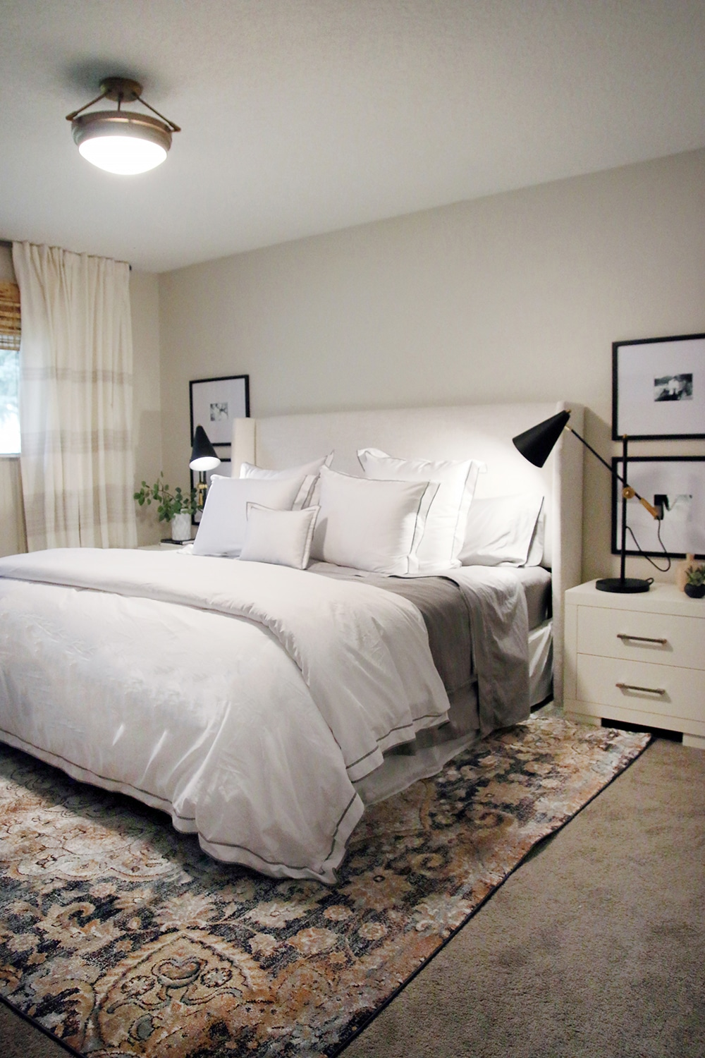 a one day master bedroom makeover and 5