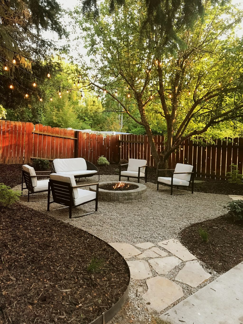 A Backyard Makeover in a Weekend - Chris Loves Julia on Small Backyard Renovation Ideas id=81115